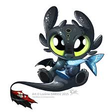 toothless clipart