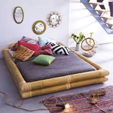 bamboo bed 160x200 balyss bed sale at tikamoon