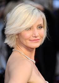 platinum blonde bob hairstyles pictures cameron diaz short platinum blonde bob hairstyle with bangs
