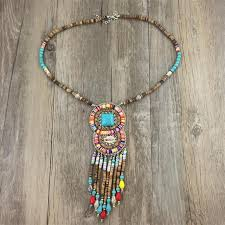 vintage necklace styles images Handmade vintage ethnic necklace bohemia collier multistrand jpg