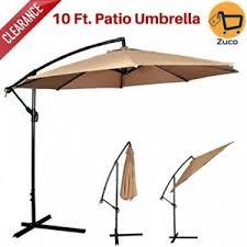 Offset Patio Umbrella Clearance Patio Umbrella Clearance 10 Ft Hanging Offset Outdoor Backyard