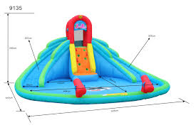 inflatable water slides for sale happy hop