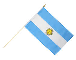 Argentina Flag Photo Argentina Hand Waving Flag 12 X 18 Inch Best Buy Flags Co Uk