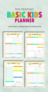 25 printable planner pages ideas planner