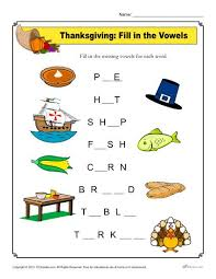 thanksgiving worksheet activity worksheets activities and students