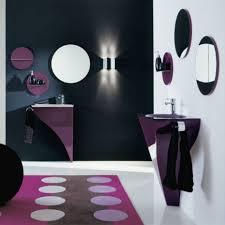 bathroom round vanity mirror also unique wall mounted sink feat