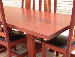 Mahogany Dining Table Honduran Mahogany Dining Table And Chairs David Libersat