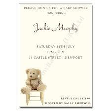 teddy baby shower vintage teddy baby shower invitations sempak 11646da5e502