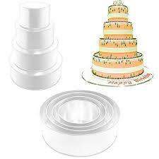 wedding cake pans 4 tier multilayer wedding cake baking pans tins