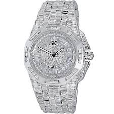 crystal bracelet watches images Adee kaye men 39 s 48mm majesty quartz crystal accented bracelet