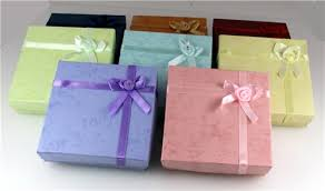 gift boxes with bow 72 pieces jewelry bracelet boxes bow tie satin ribbon and bow