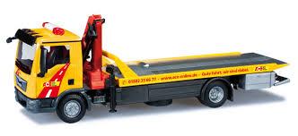 camion porta auto herpa mezzo di servizio tgl 6 con pianale trasporto
