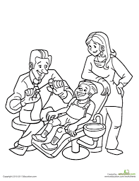 coloring pages breathtaking dental coloring page flairs