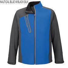 Blue Ash Color by Ash City Terrain Men U0027s North End Color Block Soft Shells With