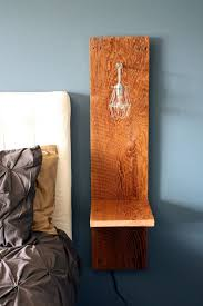 How To Make A Wooden Bedside Table by The 25 Best Wall Mounted Bedside Table Ideas On Pinterest Wall