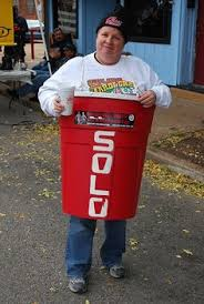 Red Solo Cup Halloween Costume Red Solo Cup Costume Diy