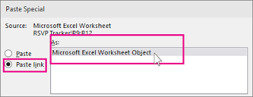 insert excel data in powerpoint powerpoint