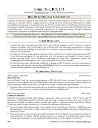 Resume Writing Samples by Nutrition Resume Writing Service Ihirenutrition