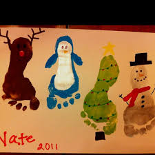Arts And Crafts Christmas Cards - 155 best kid painting with fingers u0026 toes images on pinterest