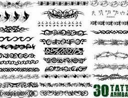 back tribal armband designs for 5370807