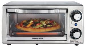Elite Cuisine 4 Slice Toaster Oven Hamilton Beach 4 Slice Toaster Oven Silver 31138 Best Buy