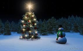 christmas tree snow wallpaper wallpapersafari