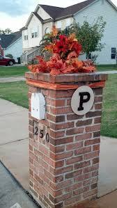 Christmas Mailbox Decoration Ideas Favorite Fall Mailbox Decorating Ideas Decor To Adore