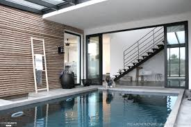interieur maison bois contemporaine maison ossature bois à chessy pyz architecture côté maison