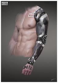 artstation nova bionics arm georg löschner cyberpunk