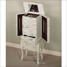 Mirror Armoire Wardrobe Bedroom Amazing Floor Stand Mirror With Jewelry Cabinet Dresser