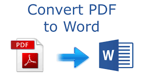 Pdf To Word How To Convert Pdf To Word 2016 Tutorial