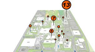 Cal State Fullerton Campus Map by Cal State Fullerton Plagued By Bike Thefts Near Student Housing