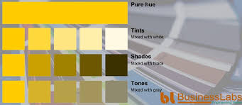 yellow color schemes monochromatic color scheme of yellow in color psychology