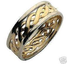 celtic wedding ring celtic wedding rings ebay