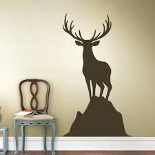 Home Decor Antlers Wall Ideas Deer Wall Decor Silver Deer Antlers Wall Decor Metal
