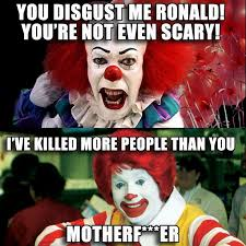 Creepy Clown Meme - creepy clown memes image memes at relatably com