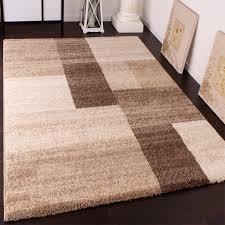 Modern Rugs Uk by Heavy Woven Designer Carpet Modern Rug In Beige Brown Cream Top