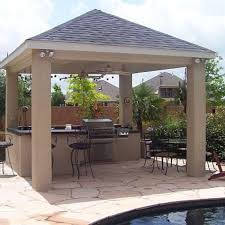 ideas for outdoor kitchens endearing outdoor kitchen ideas on a budget outdoor kitchen design