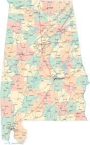 Florida City Map Alabama Road Map U2022 Mapsof Net