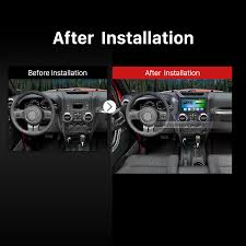 jeep wrangler dashboard lights 10 2 inch 1024 600 android 6 0 2015 2016 2017 jeep wrangler