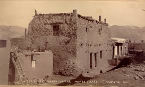 Pueblo Adobe Houses by New Mexico Jeffrey Kraus Antique Photographics