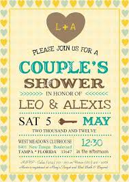 couples shower invitations template 15 best jack and jill bridal