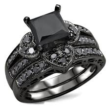 Black Wedding Rings by Wedding Rings For Women Rings For Women Princess Cut Diamond