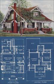 chicago bungalow floor plans craftman bungalow style house 1921 american homes beautiful