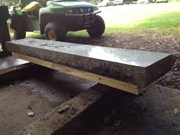 granite bench made from an old golf tee marker album on imgur