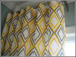 Yellow And Grey Curtain Panels Yellow And Gray Curtain Panels Curtains Home Design Ideas