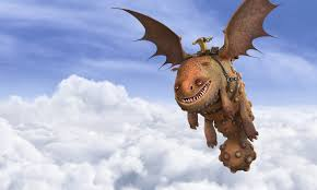 grump explore train dragon