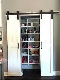Bookcase Closet Doors Barn Door Bookcase Medium Size Of Sliding Door Bookcase
