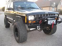 jeep comanche pickup truck pre elite prerunner winch front bumper jeep cherokee xj comanche 84
