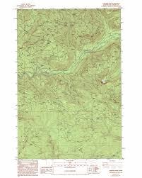 Yacolt Washington Map by Lakeview Peak Topographic Map Wa Usgs Topo Quad 46122a4